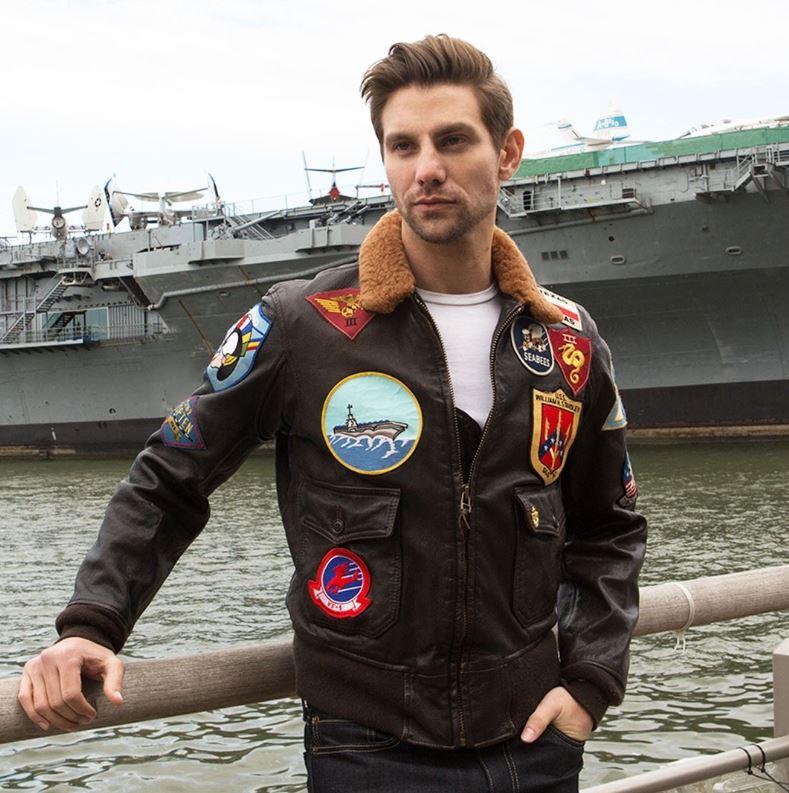 Aviation > Blousons aviateurs > Cockpit usa ex avirex homme