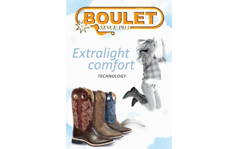 Boulet Boots - Extralight sole