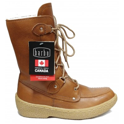 Alfred Cloutier - Bottes urbaines ROMY cuir brun