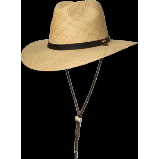 Barmah - Chapeau pour pêcheur en rafia