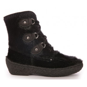 Bilodeau - FREDERIC Urban Boots, Black Seal - Short Version